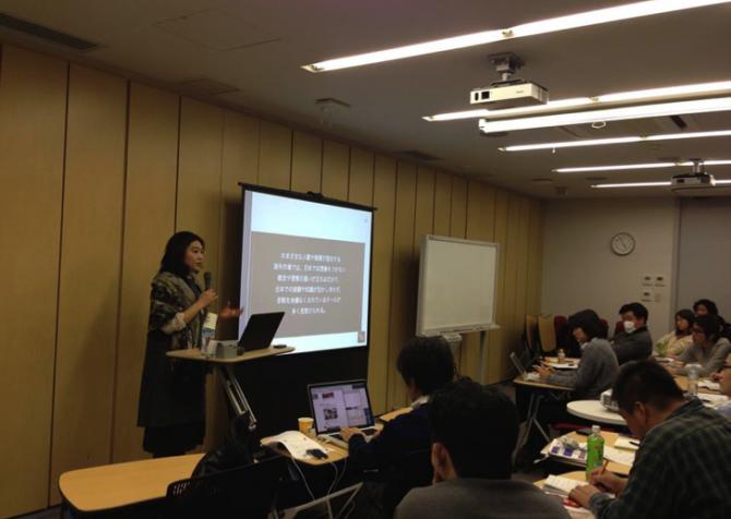 事業構想大学院で講義を行いました!