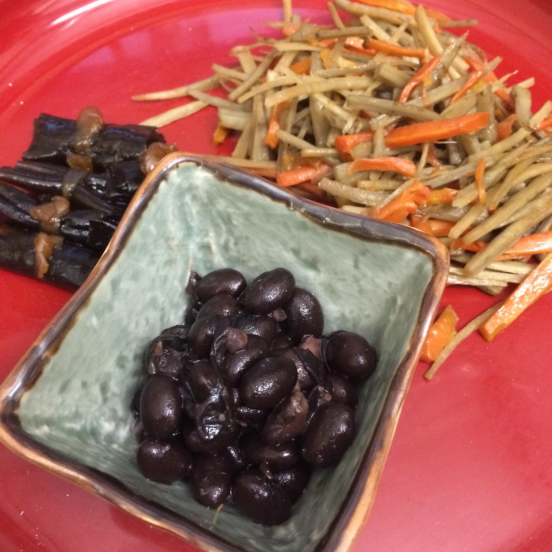 昆布の煮しめきんぴら黒豆