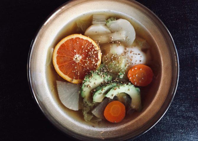 オレンジカウンティ風の雑煮をつくってみた!