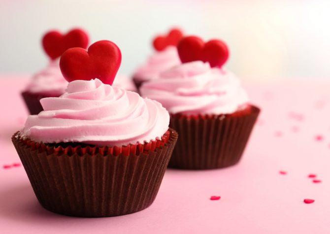 南カリフォルニアの雨とピンクのカップケーキって?