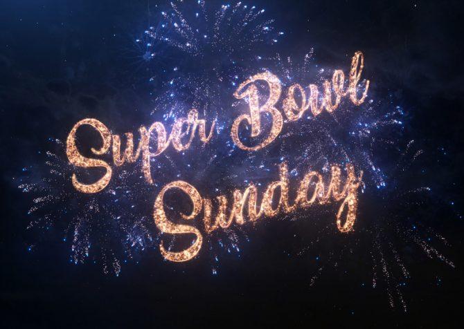 明日2月3日、アメリカではSuper Bowl!