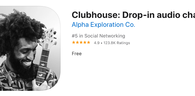 【SNSマーケティング】今、SNSアプリ「クラブハウス」に注目すべき理由。