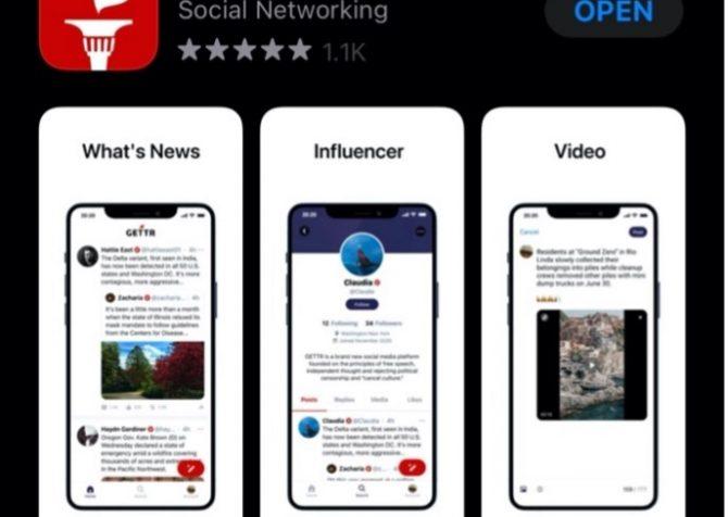 新しいソーシャルメディアプラットフォーム。トランプ前大統領の元側近が「ゲッター」を立ち上げる。